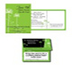 Kimberly Berkus - Event Postcard, Two-fold Referral Card created to fit custom envelope creation