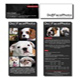 Dog Face Photo - Business Cards and Hard Card/Handout
